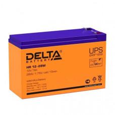 Аккумулятор Delta HR 12-7.2 (12V 7.2Ah)