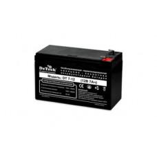 Батарея аккумуляторная 12V 7AH DeTech