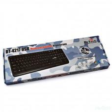 Клавиатура DeTech K4217 USB