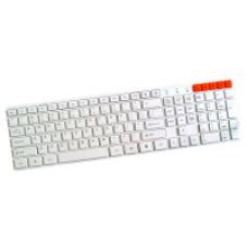 Клавиатура DeTech K4222 White USB