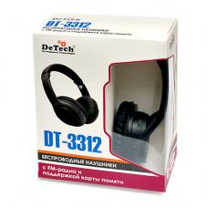 Беспроводные наушники DeTech DT-3312
