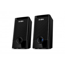 Акустическая система 2.0 SVEN 318 Black 2x2.5 Вт