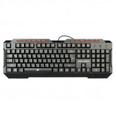 Клавиатура проводная игровая KGK-19U Dialog Gan-Kata -с подсветкой, USB, черная