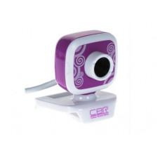 Веб-камера CBR CW-835M Purple 1.3мп