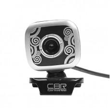 Веб-камера CBR CW-835M Silver 1.3мп