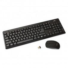 Клавиатура + мышь DeTech KM-215W (беспроводной комплект)